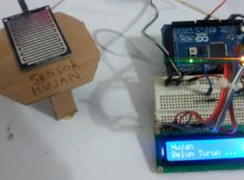 Membuat Alat Pendeteksi Hujan Berbasis Arduino (Rain Detector Use Arduino) --------- Nofgi Piston