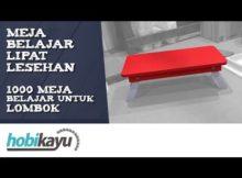Membuat Meja Belajar Lipat Lesehan - Meja Untuk Lombok