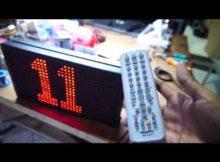Mesin Display Antrian Dengan Arduino VLOG169