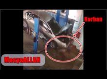 Mobil Jatuh dari Steam Mobil Hidrolik, Pegawai & Pemilik Mobil jadi K(0)Rban