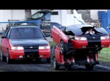 Mobil Robot Transformers Di Dunia Nyata