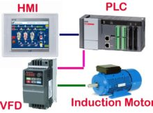 Motor control using PLC HMI VFD -Tutorial   3 .2