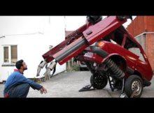 OMG.. MOBIL INI BENAR2 BERUBAH JADI ROBOT