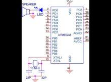 Part 5 Belajar Mikrokontroler ATMEGA + Speaker