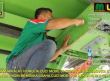 PEMASANGAN ALAT HIDROLIK CUCI MOBIL DI KEBON JERUK,JAKARTA