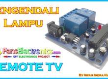 Pengendali Lampu Menggunakan Remote TV dan Arduino