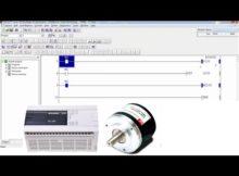 PLC Mitsubishi FX3G high-speed counter programming on GX Developer