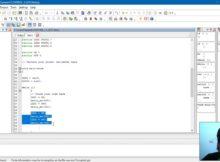 Project led blinking dengan arduino uno, codevisionAvr dan xloader