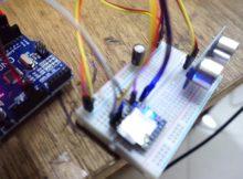 Project Penggaris Digital Arduino