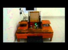 Prototipe Pembuka dan Penutup Meja Kantor Menggunakan Voice Berbasis Arduino Uno - Raharja
