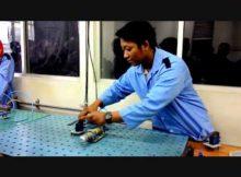 Rangkaian Pneumatik Dasar SAC III 2A PRODUKSI 2014/2015 POLINEMA