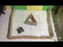 Robot Arduino Wall Avoider Demo Robot penghindar dinding