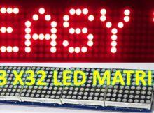 Text Scrolling Display | MAX7219 Dot Matrix 4-in-1| Arduino