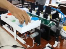Tugas Akhir Teknik Elektronika Industri -  PNJ kerjasama dengan CEVEST Bekasi 2016