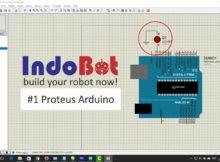 Tutorial Main Arduino di Proteus #1 Proteus Arduino