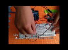 Tutorial pembuatan Palang Otomatis menggunakan sensor ultrasonik dan servo dengan Arduino