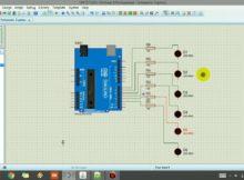 TUTORIAL PROTEUS : Cara Simulasi Proteus dengan Program ARDUINO ( Running LED )