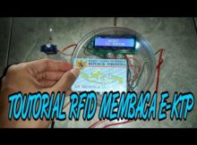 [TUTORIAL#1]MODUL RFID ARDUINO MEMBACA E-KTP...!!! (Smart Door Lock)