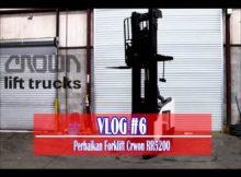VLOG #6 Cara Memperbaiki Forklift Crown RR5200 Coil Brake