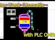 Water Tank Otomatis menggunakan PLC Cx Programmer