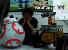 bb8 action trailer at Sekolah Robot Indonesia