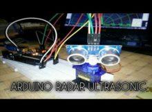 cara membuat sensor Radar | Arduino Tutorial
