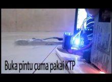 Cara menggerakan Servo menggunakan KTP (RFID)