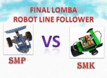 FINAL LOMBA ROBOT LINE FOLLOWER SMP VS SMK