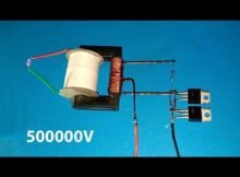 High voltage converter 500000V , Boost converter using dual mosfet