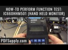 How-to Function Test: GENIUS IC660HHM501 Hand Held Monitor (PLC Programmer GE Fanuc)