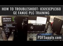 How-To Troubleshoot: IC693CPU360 (GE Fanuc PLC Training/Series 90-30)