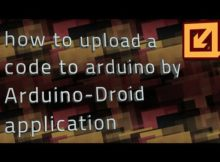 how to upload Arduino simple code from mobile- by ARDUINO-DROID
