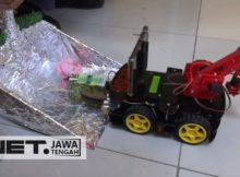 Inilah Karya Inspiratif Robot Pemungut Sampah Buatan Siswa SMK - NET JATENG