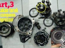 Kerosakan piston compressor aircond kereta part,3. DIY (AUTOMOTIF)