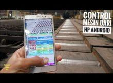 Kontrol Mesin Dari Smartphone Basic PLC Siemens S7 400 WinCC & WebUX