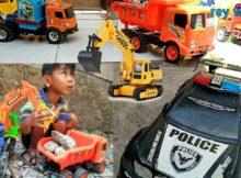 Main mobil mobilan exavator truck buldozer angkut barang bekas