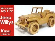 """Membuat Miniatur Mobil """"Jeep Willys"""""""