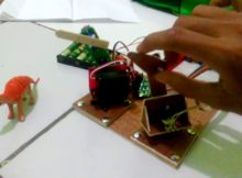 Membuat robot arm menggunakan arduino uno, hasil latihan dasar