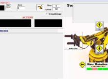 Program kendali robot dengan visual basic 6 0