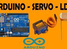 [PROJECT ARDUINO SEDERHANA] Kombinasi Servo dengan LDR Menggunakan Arduino UNO R3 #12