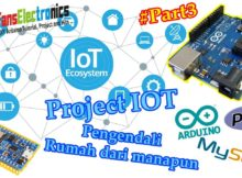 Project Internet of Things (IOT), Pengendali Lampu melalui Jaringan Internet Part 3