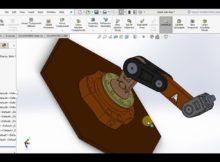 robot arm solidworks-2017