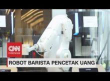 Robot Barista Pencetak Uang