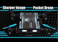 Sharper Image Pocket $29.99 Camera Foldable RC Drone Review Jumper T8SG Plus
