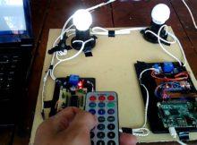 Sistem Pengontrol dan Monitoring Outlet Lampu pada Gedung berbasis Remote Control