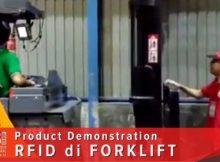 Sistim RFID di Mobil  Forklift