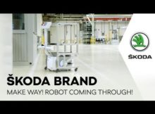 ŠKODA BRAND: Make Way! Robot Coming through!