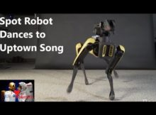 SpotMini Robot Dances to UpTown Funk Song|| Boston Dynamics 2018