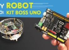 Tự làm ROBOT Bluetooth với KIT Arduino BOSS UNO - DIY Arduino Robot Arm with Smartphone Control