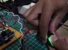 #TUTORIAL Fingerprint Doorlock Arduino - Membuka Pintu Dengan Sidik Jari
